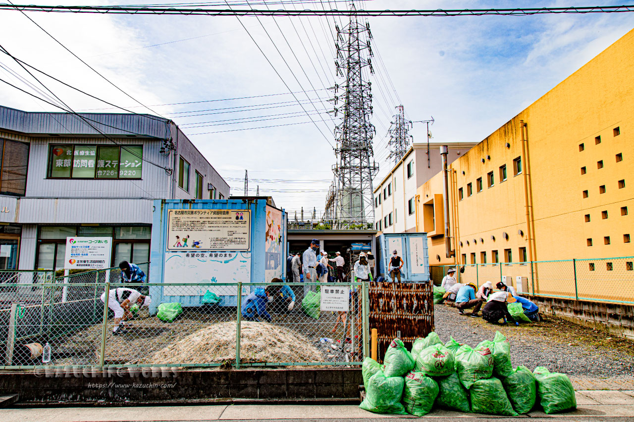 2020年07月12日 草刈り@災害資材倉庫名東 その07